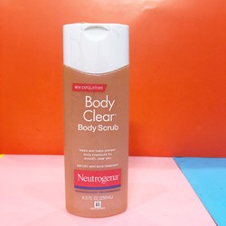 Sữa tắm tẩy tế bào chết Neutrogena Body Clear Body Scrub