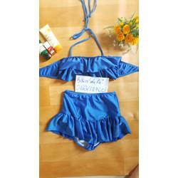 bikini bộ xanh cobal