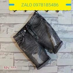 quần short jean nam hàng cao cấp