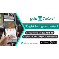 Thiết bị chẩn đoán lỗi ô tô thông qua cổng OBD Golo CarCare