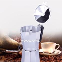 Ấm pha cà phê nhôm moka pot express 600 ml