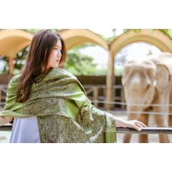 khăn nữ pasmina đẹp từng centimet