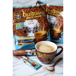 Cà phê hòa tan ít đường Old Town White Coffee Malaysia