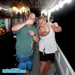 Tour Phú Quốc- Câu Mực Đêm - Thư Giãn Trên Biển
