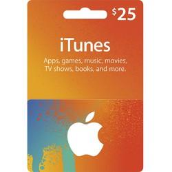 Thẻ iTunes gift card - thẻ thật chính hãng