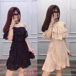 Đầm rớt vai Quảng Châu -D127