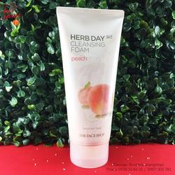 Sữa rửa mặt The Face Shop Herb Day 365 Cleansing Foam 170ml
