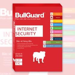 PHẦN MỀM DIỆT VIRUS BULLGUARD INTERNET SECURITY 1 NĂM 1PC