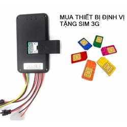 Thiết bị định vị GPS xe máy GT06+Tặng kèm Sim 3G