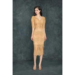 Đầm Cao Cấp Ren Tay Lỡ