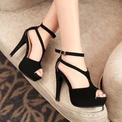 Giày cao gót khóa kéo sau CK276
