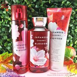 Set Bath Body Works Japanese Cherry Blossom – 3 sản phẩm