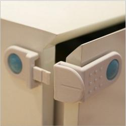 [HCM, giá rẻ] Bộ 2 chốt khóa cửa tủ ngăn kéo loại vuông góc