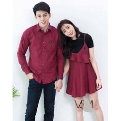 Áo váy đôi đỏ dễ thương - tặng người yêu