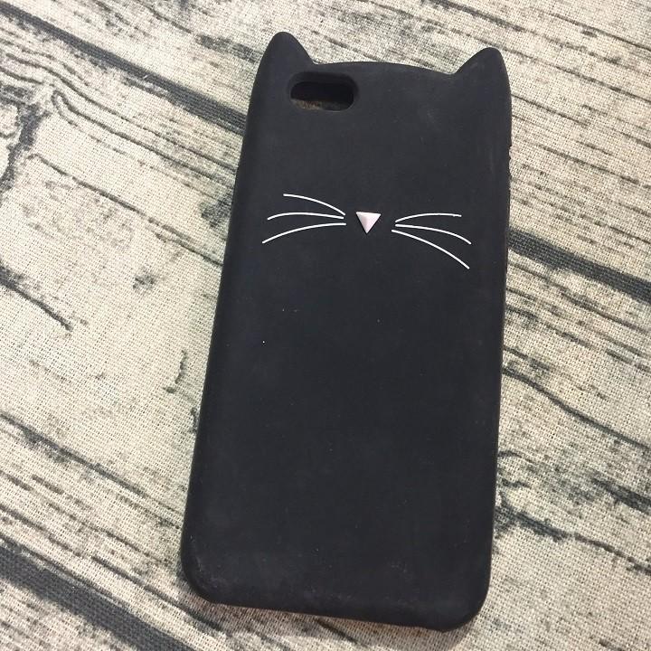 Ốp lưng Iphone 5 5s 6 6s râu mèo 2