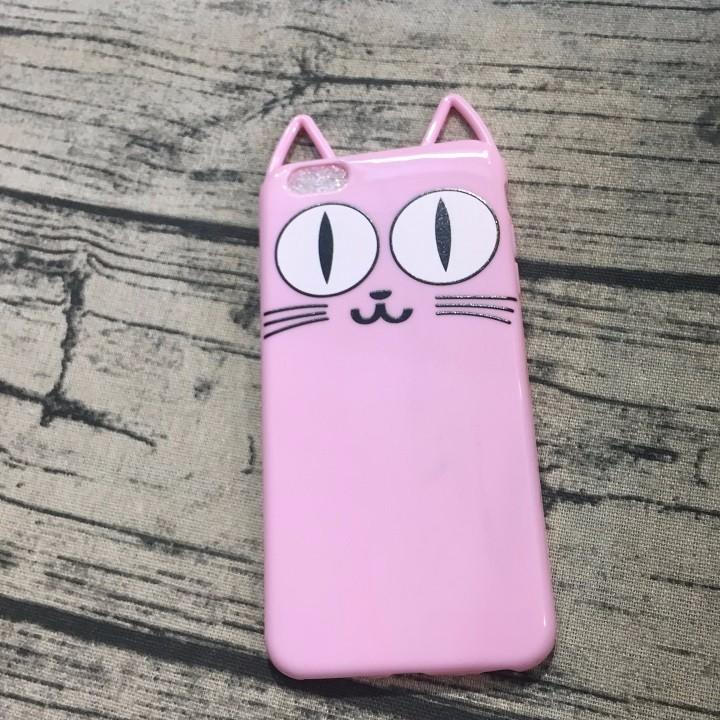 Ốp lưng Iphone 6 plus mèo có tai 3