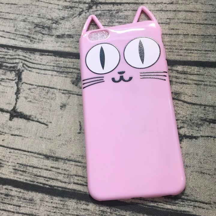 Ốp lưng Iphone 6 plus mèo có tai 2