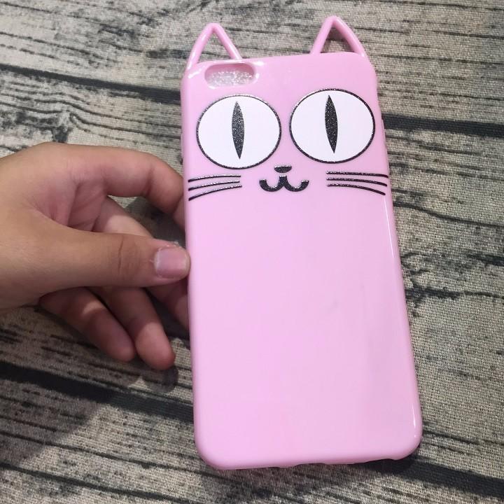 Ốp lưng Iphone 6 plus mèo có tai 4