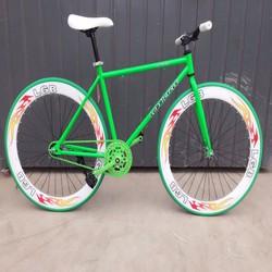 xe đạp không phanh fix gear
