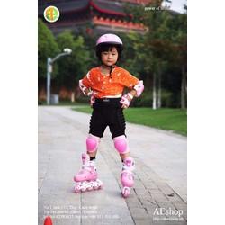 Bộ bảo vệ tay chân-bộ bảo vệ khủy tay và đầu gối cho bé