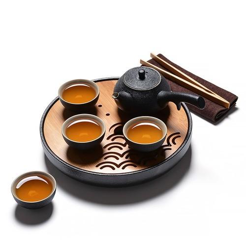 Bộ ấm trà gốm sứ cao cấp Trung Hoa