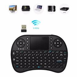 Bàn phím kiêm chuột không dây cho android tivi box, laptop, pc