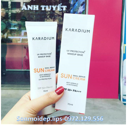 🍀 Kem chống nắng Karadium Snail Repair Sun Cream SPF 50+ PA+++