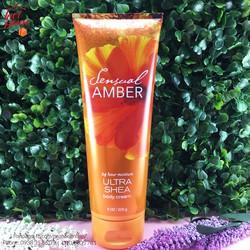Kem dưỡng thể Bath Body Works Sensual Amber 226g