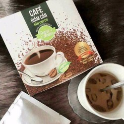Cà phê giảm cân nấm linh chi