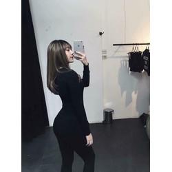 QUẦN LEGGING ĐEN LOẠI 1