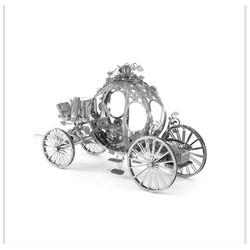 Đồ chơi lắp ghép mô hình 3D bằng thép xe bí ngô