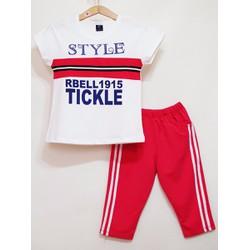 Bộ thun thể thao bé gái Style size đại