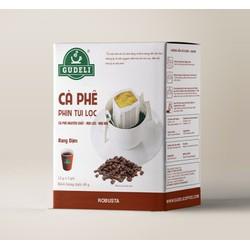 Cà phê túi lọc Robusta 12g x 5 gói