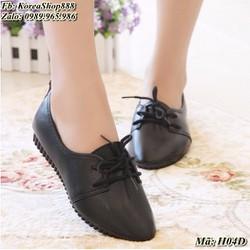 Giày Oxford nữ kiểu dáng Hàn Quốc