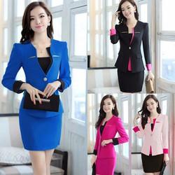 Vest bộ gồm áo và chân váy phối màu tùy chọn đủ size TV02B HÀNG Y HÌNH