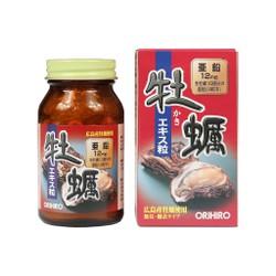 Hàu tươi nhật bản Orihiro New oyster extract tablet