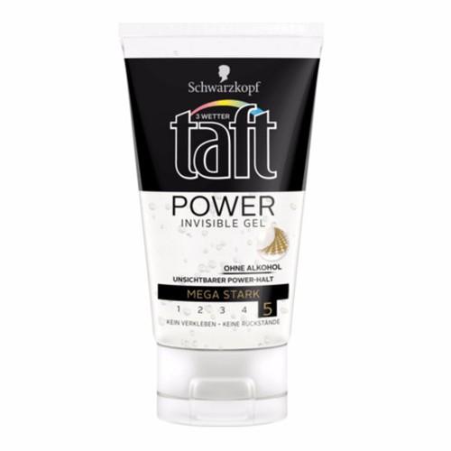 Gel Vuốt Tóc Taft Power Invisible, 150 ml