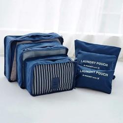 Bộ 6 Túi Bags In Bag Cao Cấp Xếp Gọn