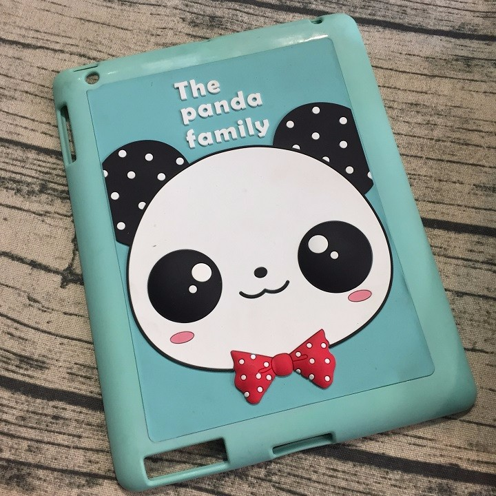 Ốp lưng ipad 4 hình panda 2
