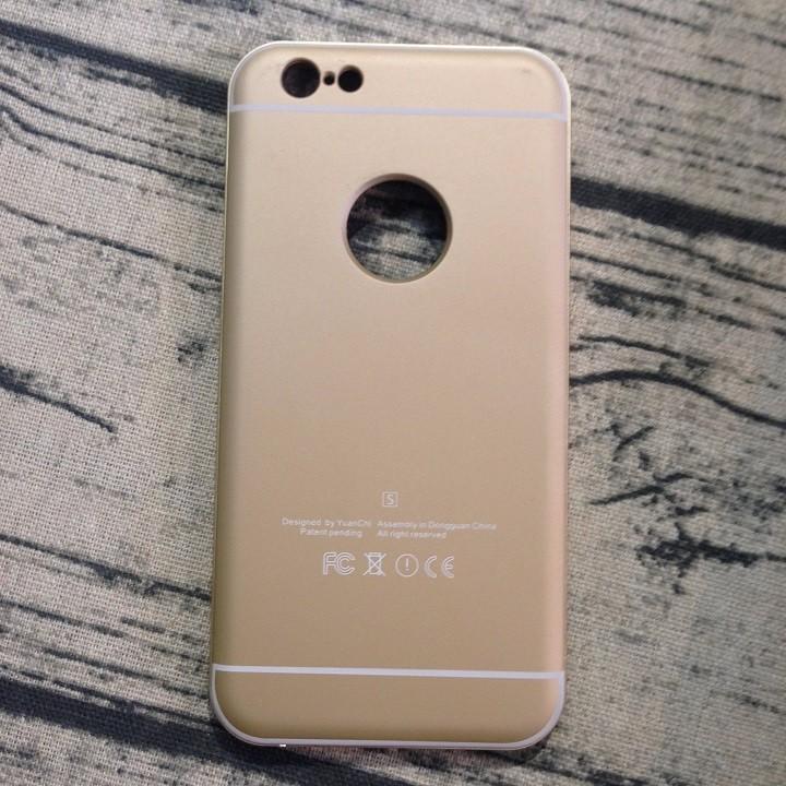 Ốp lưng Iphone 6 6s trơn màu hồng 3