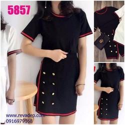 Set Váy áo len V2935