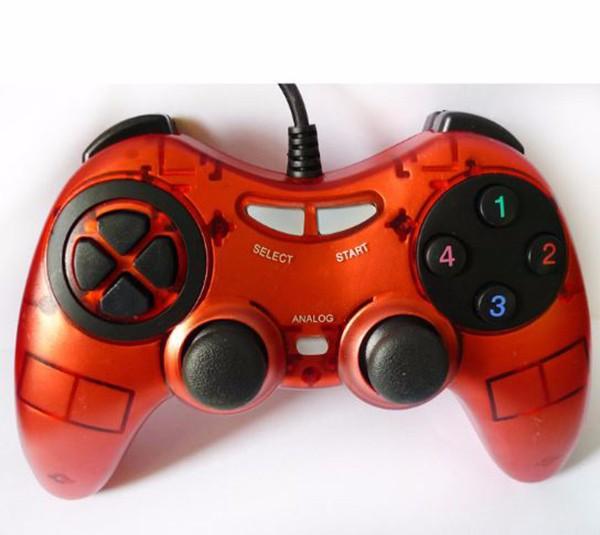 Tay game pc, laptop cao cấp gamepad U900 tích hợp 2 joystick 3