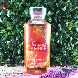 Gel Tắm Bath Body Works Sensual Amber295ml