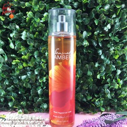 Xịt toàn thân Bath Body Works Sensual Amber236ml