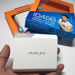 Pin sạc dự phòng Arun.10400mAh chính hãng