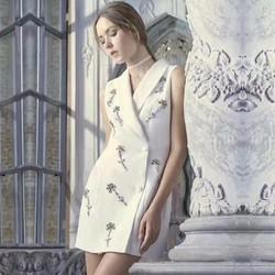 Đầm vest gắn đá cao cấp