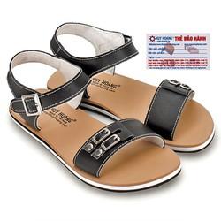 Giày SANDAL Huy Hoàng màu đen