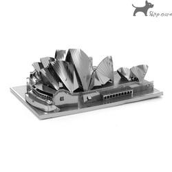 Đồ chơi lắp ghép mô hình 3D bằng thép nhà hát sydney