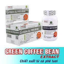 COFFEE GIẢM CÂN HIỆU QUẢ USA - GREEN COFFEE BEAN EXTRACT
