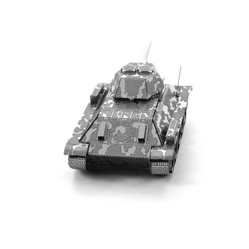 Đồ chơi lắp ghép mô hình 3D bằng thép xe tăng T34